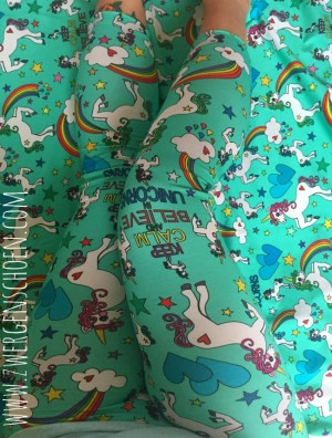 ♥UNICORN♥ 1.4m OUTLINERS Einhorn JERSEY mint