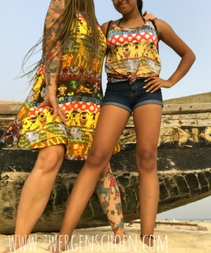 ♥MAMA AFRICA♥ 0.5m SWIM+SPORT fabric