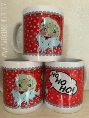 ♥SANTA BABY♥ Tasse Weihnachtsmann HOHOHO 0.3L