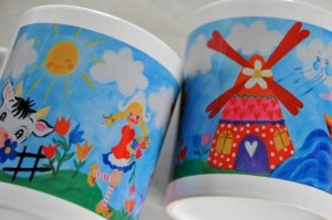 ♥BUNTLAND♥ Dutch  LOVE Holland TASSE Mug 0.3L