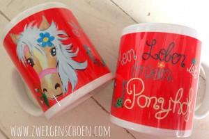 ♥MON CHERI♥ HORSE Mug PONY 0.3L
