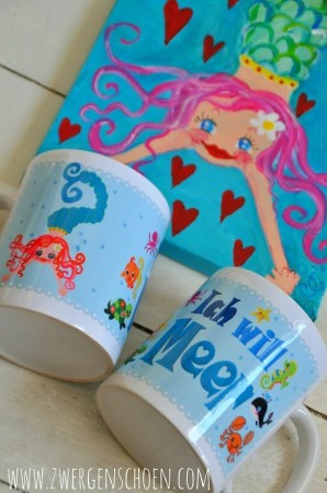 ♥ ICH WILL MEER♥ MUG 0.3L Mermaid