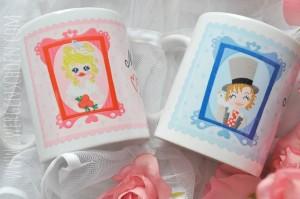 ♥MARRY ME♥ WEDDING Mugs SET of 2 BLONDIE