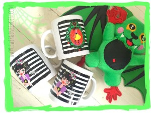 ♥GRISELDA the VAMPIRE girl♥ MUG 0.3L