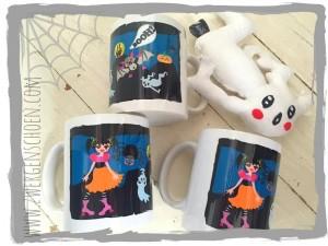 ♥FRITZI FLATTER&Friends♥ Tasse GRUSELSCHÖN 0.3L