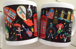 ♥LONDON CALLING♥ Tasse DESIGN 2.0 black 0.3L
