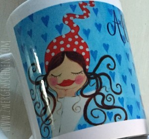 ♥MILLI in LOVE♥ Tasse MUG 0.3L skyblue
