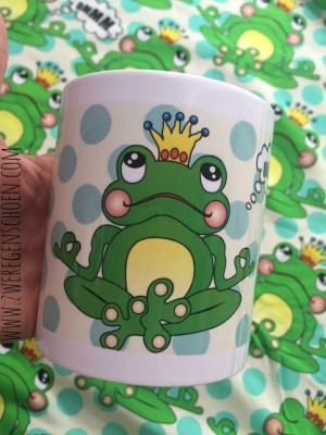 ♥OMM Frogrince on DOTS♥ MUG 0.3L