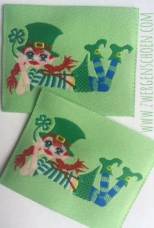 ♥KERRY of IRELAND♥ Webetikett AUFNÄHER 5x5cm