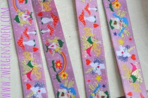 ♥TINKA BELLA♥ sparkeling RIBBON violet FAIRY Price per ONE Meter