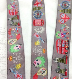 ♥MIX of LONDON♥ RIBBON XXL width Price per METER