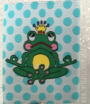 ♥ARTHUR on DOTS♥ WOVEN LABEL YOGA-FROG