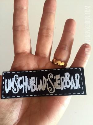 ♥UNschubladISIERbar♥ Webetikett BLACK&WHITE
