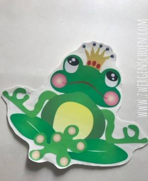 ♥FROGPRINCE ARTHUR♥ YOGA sticker XXL CAR Wandtattoo 35cm