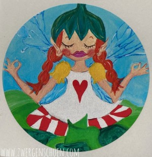 ♥BIRCH FAIRY♥ Sticker 5cm 20pieces