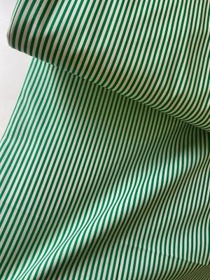 ♥STRIPES♥ 0.5m WOVEN cotton GREEN