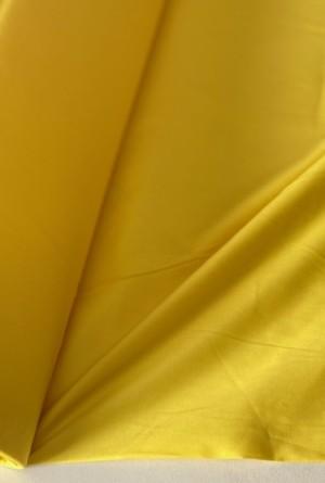 ♥UNI-BAUMWOLLE♥ 0.5m GELB Webware POPELINE