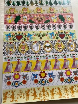 ♥HAZEL&Friends♥ Geschenkpapier DEKO Papier ASCHENBRÖDEL 50x70cm
