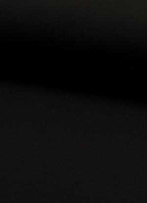 ♥FRENCH TERRY♥ 0.5m SWEATSHIRT black SCHWARZ