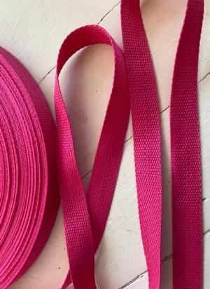 ♥GURTBAND♥ 25mm BREIT pink METERWARE soft