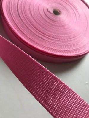 ♥GURTBAND♥ 3cm BREIT rosa METERWARE