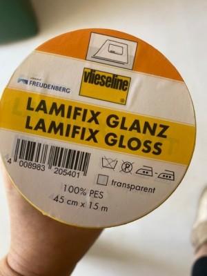♥LAMIFIX♥ 0.5m Vlieseline FREUDENBERG gloss