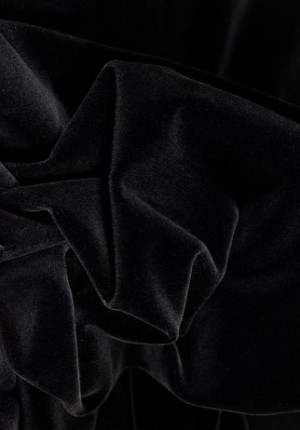 ♥Brillant - Velvet♥ 0.25m BLACK luxury QUALITY