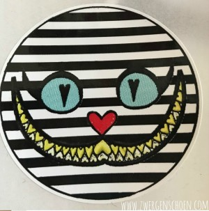 ♥CHESIRE CAT♥ Sticker 20 pcs 5cm ROUND