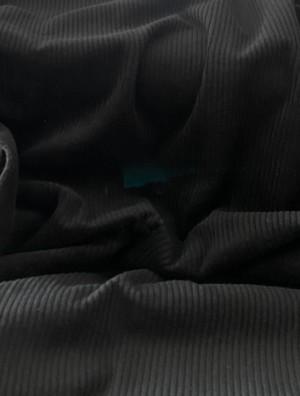 ♥BREITCORD♥ 0.5m CORD schwarz BLACK 100%Baumwolle