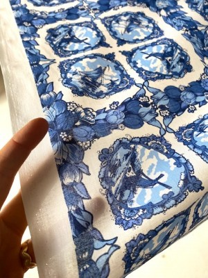 ♥DELFT♥ COTTON from HOLLAND Price per 0.5METER