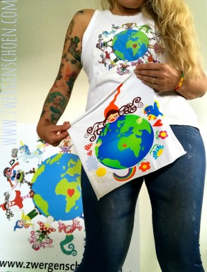 ♥PANEELE♥ Jersey (!) 08 aus 12 ONE WORLD