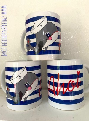 ♥MATROSEN WILLY♥ Tasse MUG Keramik WAL 0.3L