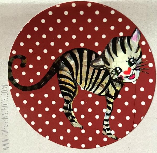 ♥KITTY♥ Sticker CAT Dotties 5cm 20pcs