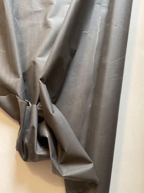 ♥OILSKIN♥ 0.5m gewachste BAUMWOLLE grau