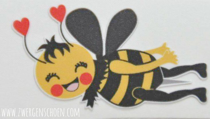 ♥little BIENCHENSCHöN♥ Aufkleber 5x5cm BIENE Bienen AUTO