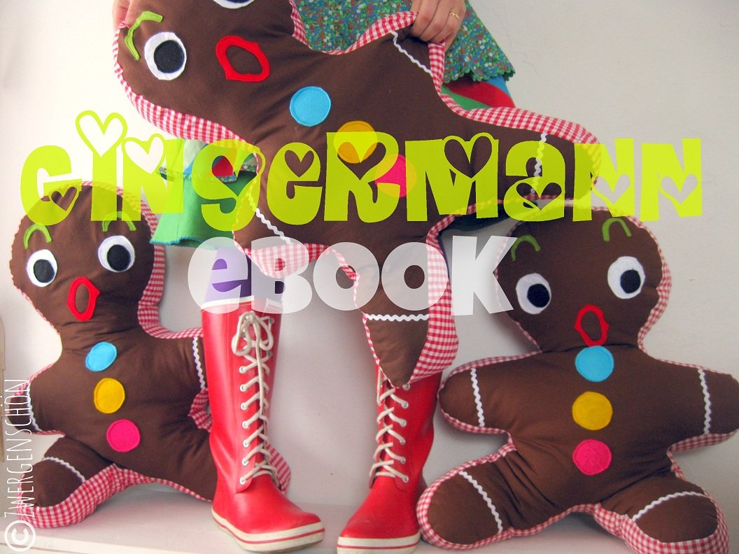 ♥MR. GINGER♥ eBOOK GINGERBREADMAN German