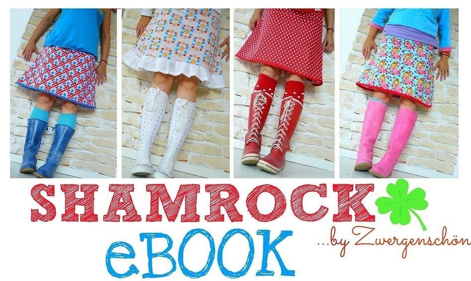 ♥ShamROCK♥ eBOOK Nähanleitung LIEBlingsROCK 1€-SPARbie