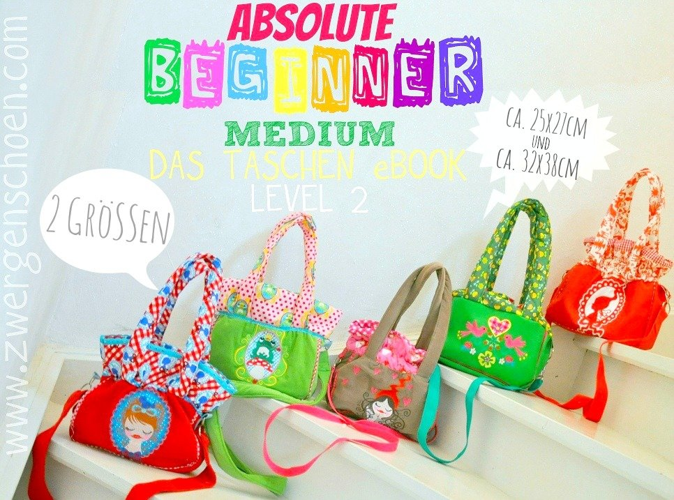 ♥ABBa BEGINNER ADVANCED♥ eBOOK little BAG 25x27cm LEVEL 2