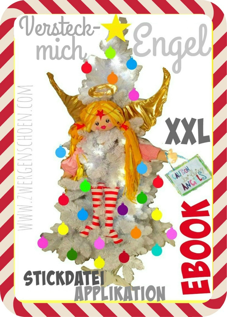 ♥HIDE&SEEK ANGEL♥ X-MAS TREE eBOOK Pattern GERMAN