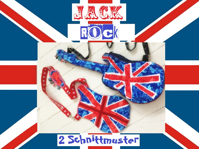 ♥JACK ROCK♥ GUITAR Pattern 1€-SPARbie