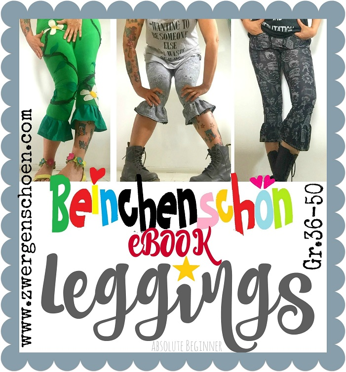 ♥BEINCHENschoen♥ eBOOK Leggings PATTERN german 36-50