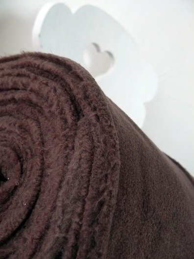 ♥FLEECE♥ 0.5m brown CHOCOLATE Bambi