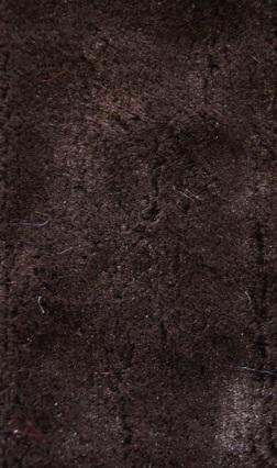 ♥FAKE FUR deLUXE♥ 0.5m KUSCHEL FELL Stoff BRAUN