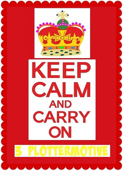 ♥KEEP CALM and CARRY on♥ PLOTTERMOTIV gewerbl. NUTZUNG