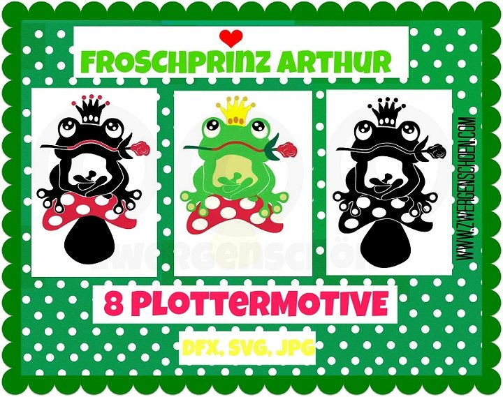 ♥FROGRPRINCE ARTHUR♥ PLOTTfiles
