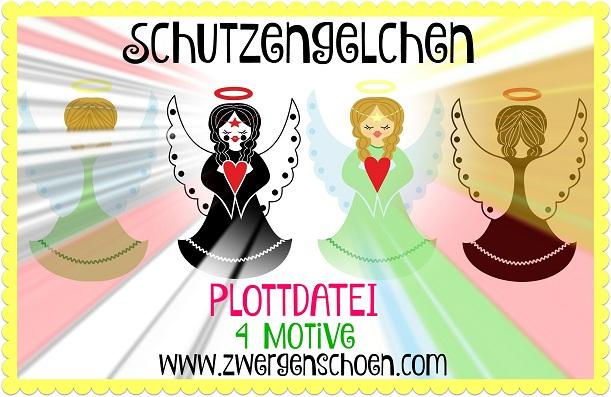 ♥SCHUTZENGELCHEN♥ Plottdatei ENGEL Dfx, JPG, SVG