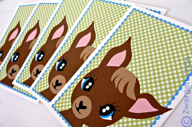 ♥TRUSTY TREUHERZ♥ Postkarten-Set 3 STCK!!!