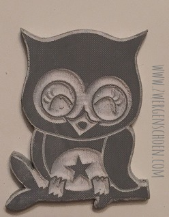 ♥RUBBERSTAMP♥ Owls DIY-Kit GUM for STAMPS CLYDE 2x3cm