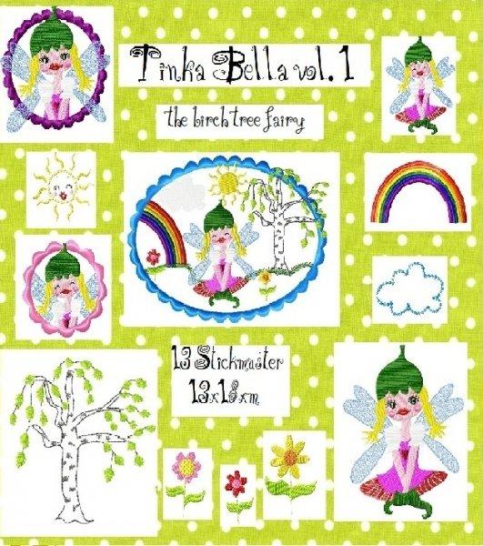 ♥TINKA BELLA♥ BIRKENFEE vol. 1 Stickmuster 13x18