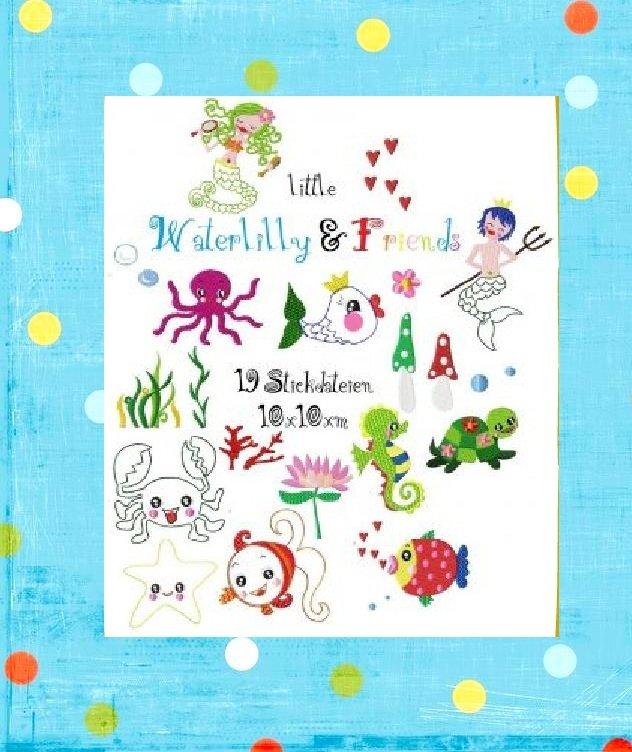 little WATERLILLY&friends XXL hoop 10x10